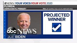 Gambar cover Biden projected to win Florida Democratic primary