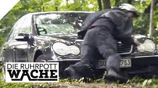 Fahrradfahrer auf Motorhaube: Achtung, Verwechslungsgefahr! | Die Ruhrpottwache | SAT.1 TV