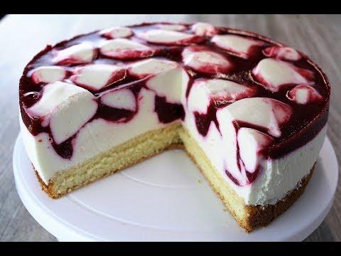 Муссовый Малиновый Торт 🔶 нежнейший йогуртовый торт