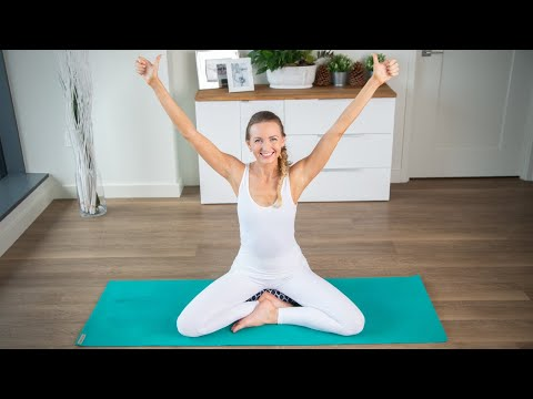 Kundalini Yoga For Beginners: How to do Breath of Fire Tutorial   Yoga Breathing Techniques