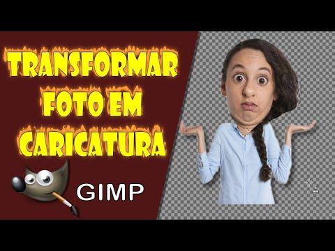 Transformar Foto em Caricatura no Gimp thumbnail