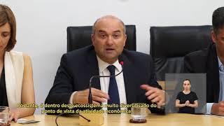 Jornal Acontece - Vereadores recebem comitiva portuguesa