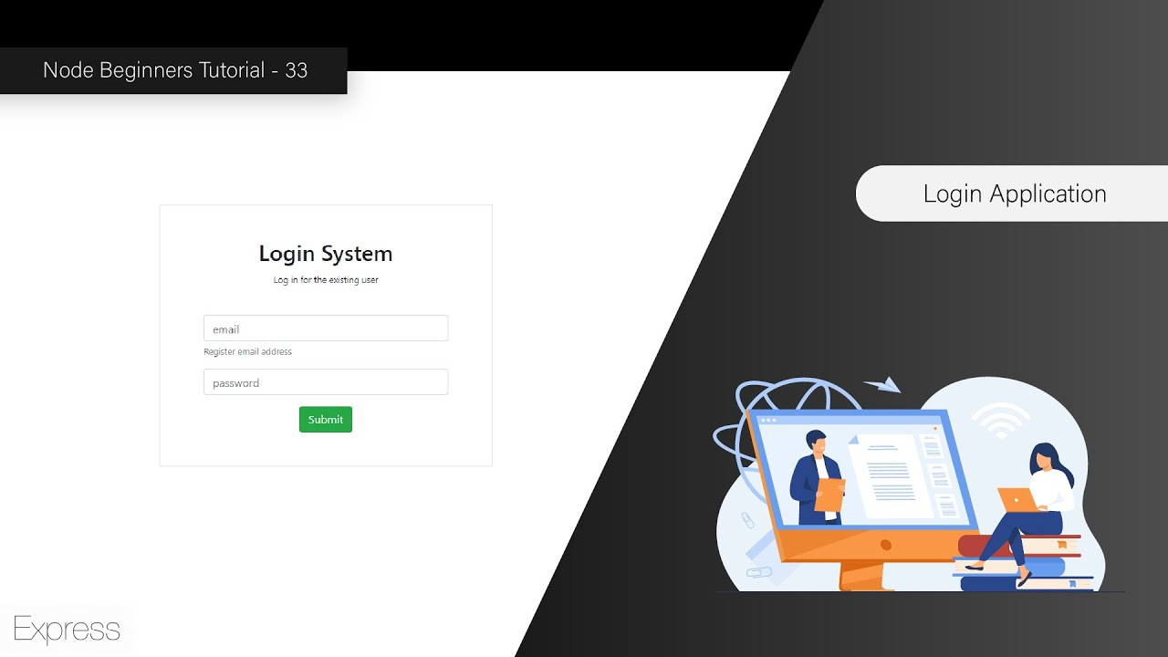 Creating Login Application with Express & Node