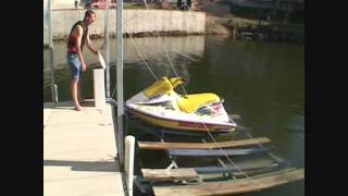 ShoreMaster Galva-Foam Galva-Lift Floating Boat Lifts