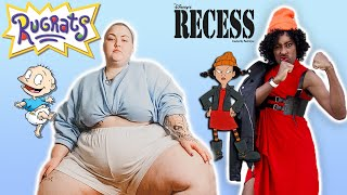 We Dressed Like 90s Cartoons For A Week: Recess Vs. Rugrats