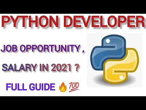 Python Developer Job in 2021 ? | Python Developer salary in INDIA , USA ? | Full Guide Hindi English