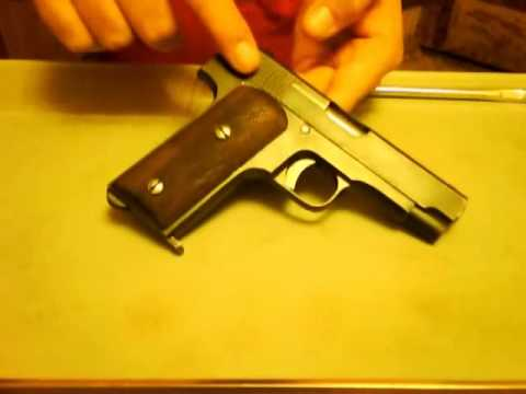 field stripping & review of the.32acp Ruby Model 1915 pistol