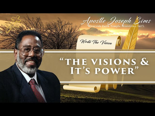 Audio Sermon - The Visions and It's Power - Habakkuk 2:1-4