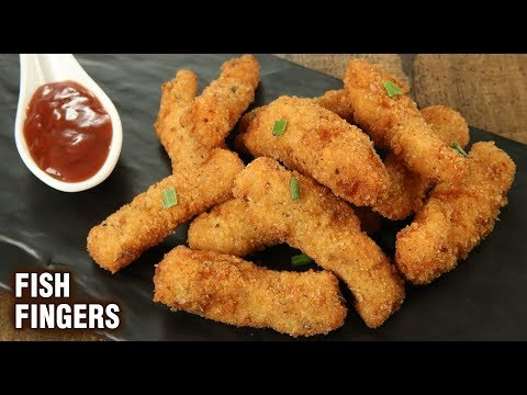 Fish Fingers Recipe | How To Make Fish Fingers | Fish Finger | Party Starter Recipe | Tarika