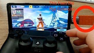 Contrôleur PS4 100% fonctionnant sans fil avec Fortnite Mobile