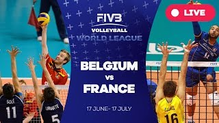 Belgium v France - Group 1: 2016 FIVB Volleyball World League(Watch the live stream of the FIVB Volleyball World League 2016 here! About the FIVB Volleyball World League 2016 With 36 teams competing across three ..., 2016-06-19T05:20:07.000Z)