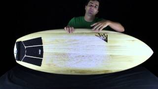 Firewire Timbertek Baked Potato, Futures Controller Fins And Free Traction - Shred Show Ep. #26