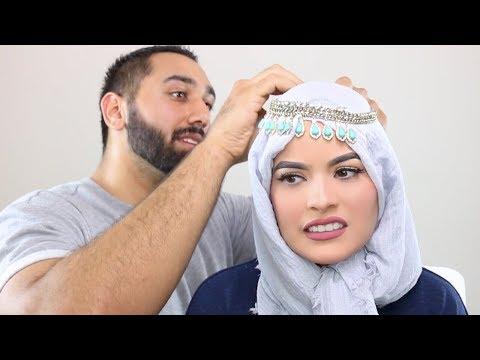 HUSBAND STYLES MY HIJAB   Omaya Zein ft Officialbigmoe