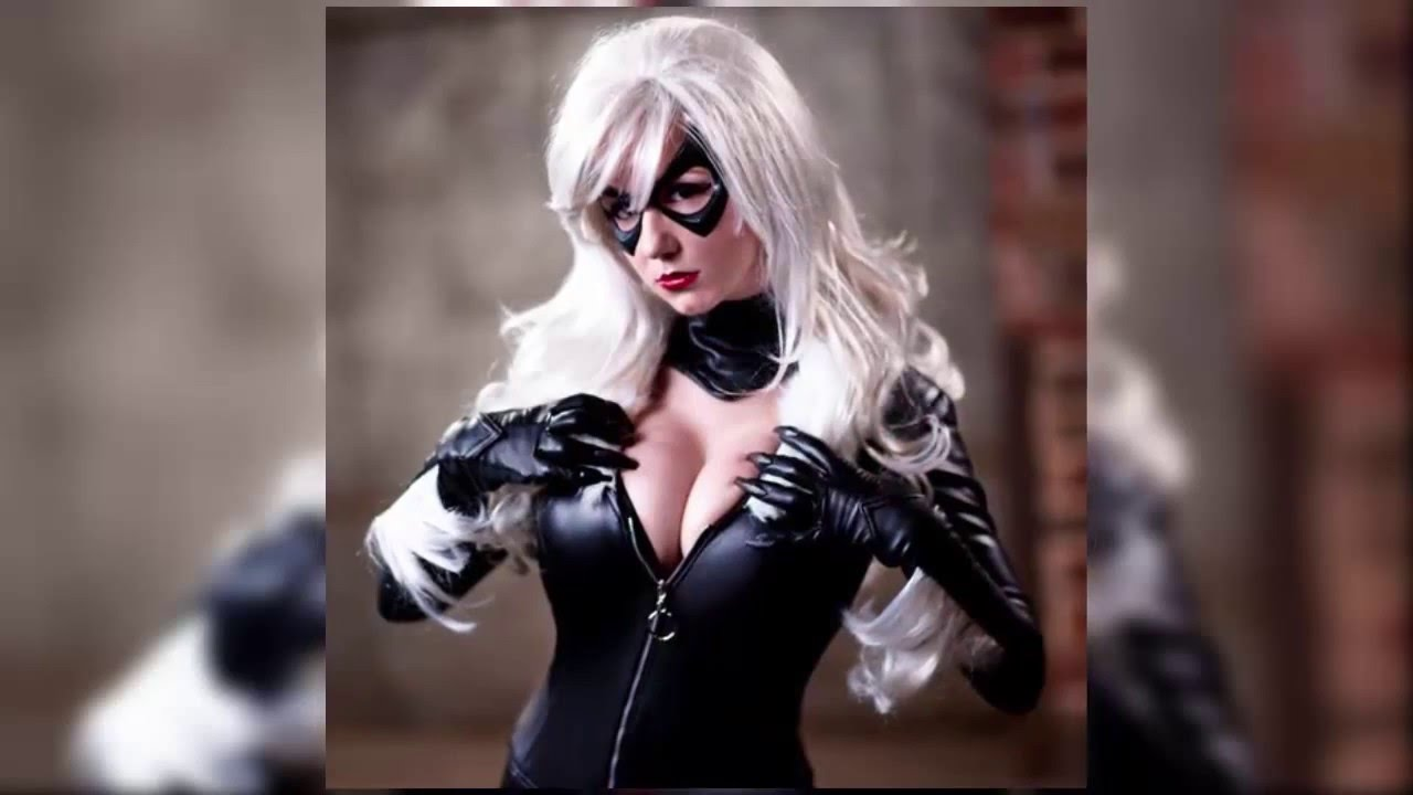Black Cat Sexy Cosplay Compilation - YouTube