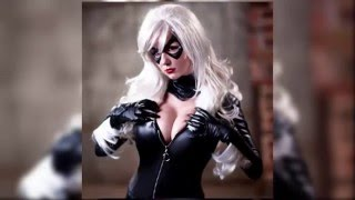Black Cat Sexy Cosplay Compilation