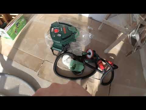 Видео обзор: Краскораспылитель BOSCH PFS 5000E