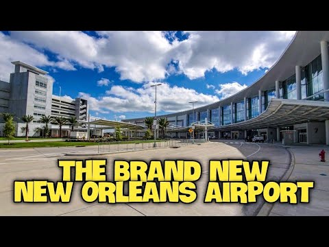 The Brand NEW New Orleans Airport | The New MSY Armstrong International Airport
