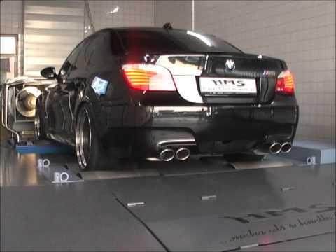 BMW M5 V10  mit HMS-Klappenabgasanlage