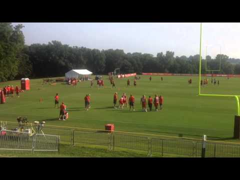 Chiefs LT Eric Fisher Works On Driving His Man