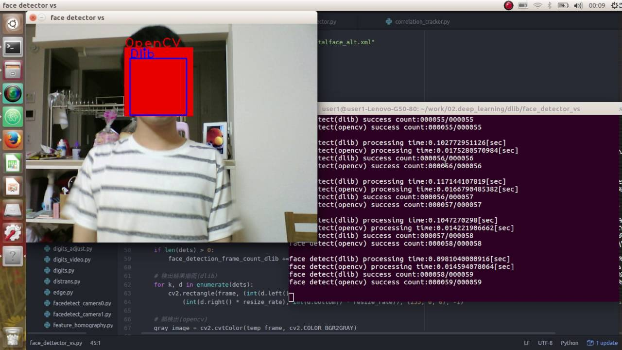 Head Pose Estimation in-the-wild with OpenCV and dlib