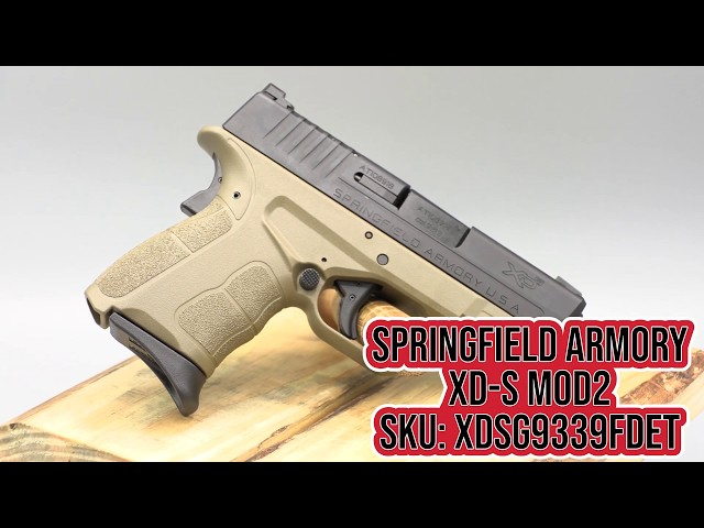 SPRINGFIELD ARMORY XDS MOD2 FDE SPOTLIGHT