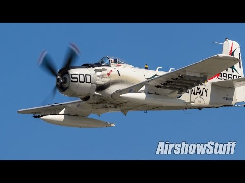 Warbird Extravaganza! Jets, Fighters, and Bombers - EAA AirVenture Oshkosh 2016