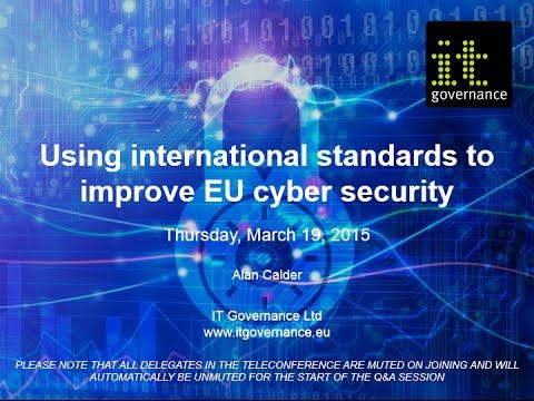Using international standards to improve EU cyber security