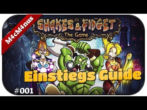 BEGINNERS GUIDE MIT SCHIKSALS MASCHINE - SHAKES AND FIDGET #001 ★Lest Play Shakes&Fidget Deutsch