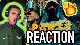 KAEF x TRICKY NICKI - Party (Official Music Video) | REACTION! ISSA HIT!