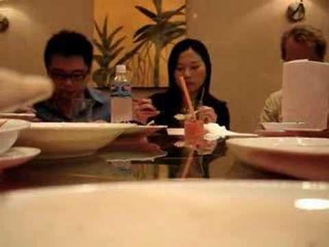 Circular Movie At Chinese Restaurant