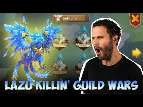 JT's F2P Guild Wars With Lazulix YA BABY! Castle Clash