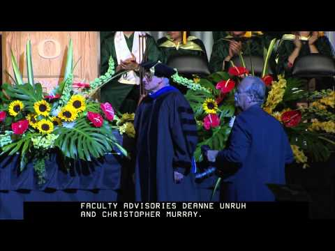 2013 College of Education Commencement at the University of Oregon