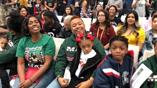 Mama Spence and Sisters At Errol Spence Jr vs Mikey Garcia Face To Face | Pugilism Company