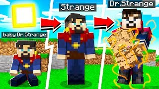 LIFE OF DOCTOR STRANGE IN MINECRAFT!