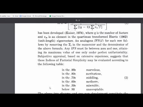 Kaiser-Meyer-Olkin (KMO) Test - How to Interpret Properly