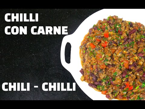 Chilli Con Carne - How to make Chili Con Carne - Chili Bowl - Classic Beef Chili - Chili Beef from YouTube · Duration:  4 minutes 55 seconds