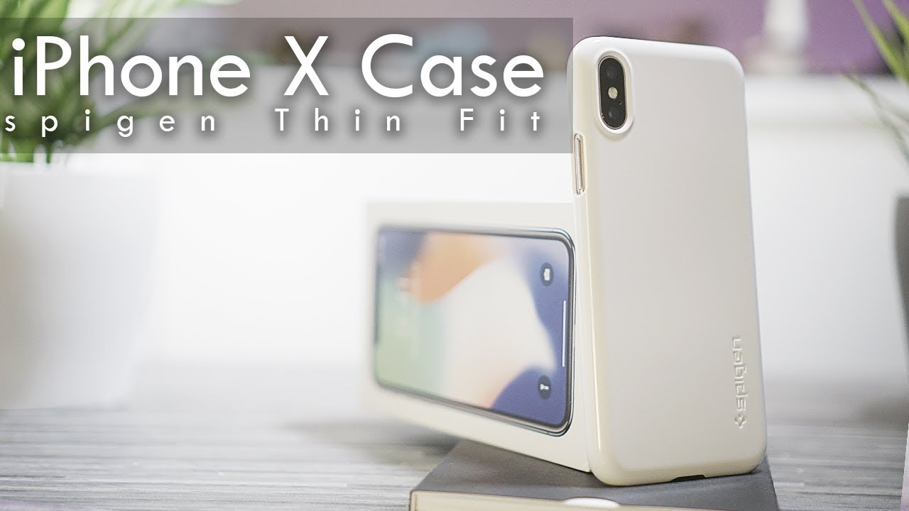 finest selection 79736 7a20a iPhone X Hülle REVIEW - Die Schönheit in Weiß Spigen Slim Thin Fit