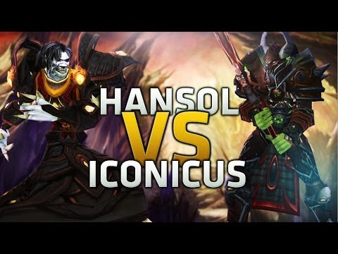 Fire vs Warrior (Hansol vs Iconicus) Mage Duels MoP
