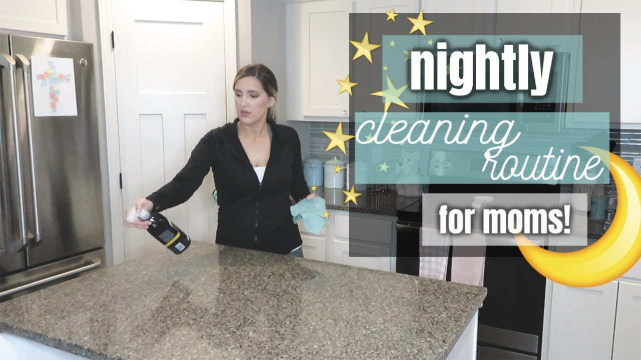 Nightly Cleaning Routine 2019 Cleaning Motivation Clean With Me