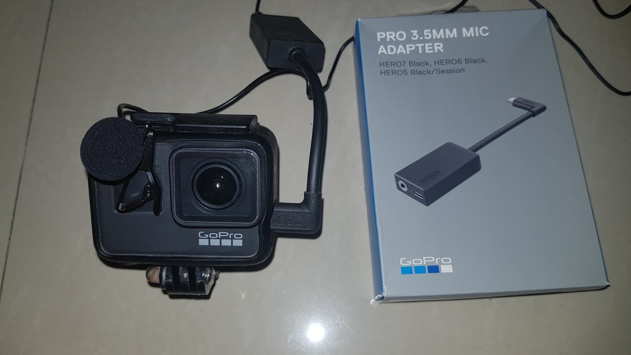 External Mic Setup On Gopro Hero 7 Youtube