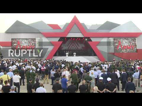 Russia: Shoigu opens 'Army 2017' arms expo in Kubinka