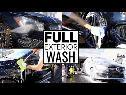 Exterior Car Detailing Like A Pro! Car Cleaning