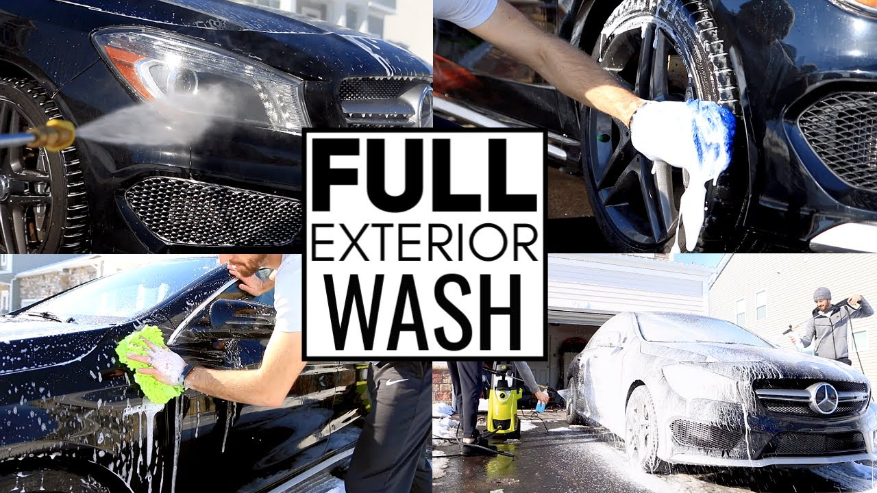 Exterior Car Detailing Like A Pro Car Cleaning Youtube