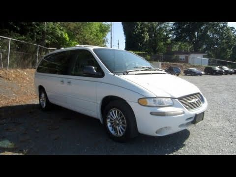 1999 Chrysler Town And Country Limited All Wheel Drive Start Up Engine In Depth Tour
