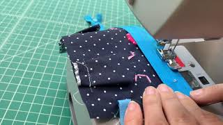 Sewcabulary Lined Zipper Tutorial