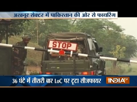 Gunfight between Pakistan and India Army Underway at LoC after Ceasefire Violation