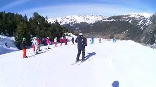 мои друзья на горнолыжном курорте