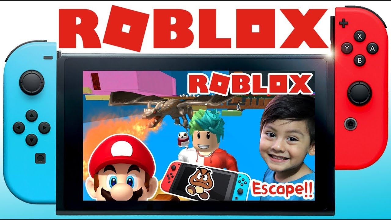 Nintendo Switch En Roblox Escapa Del Nintendo Switch Obby Roblox