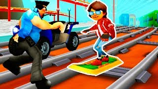 Rail Blazers - Endless Game Like Subway Surfers! Android Gameplay Trailer