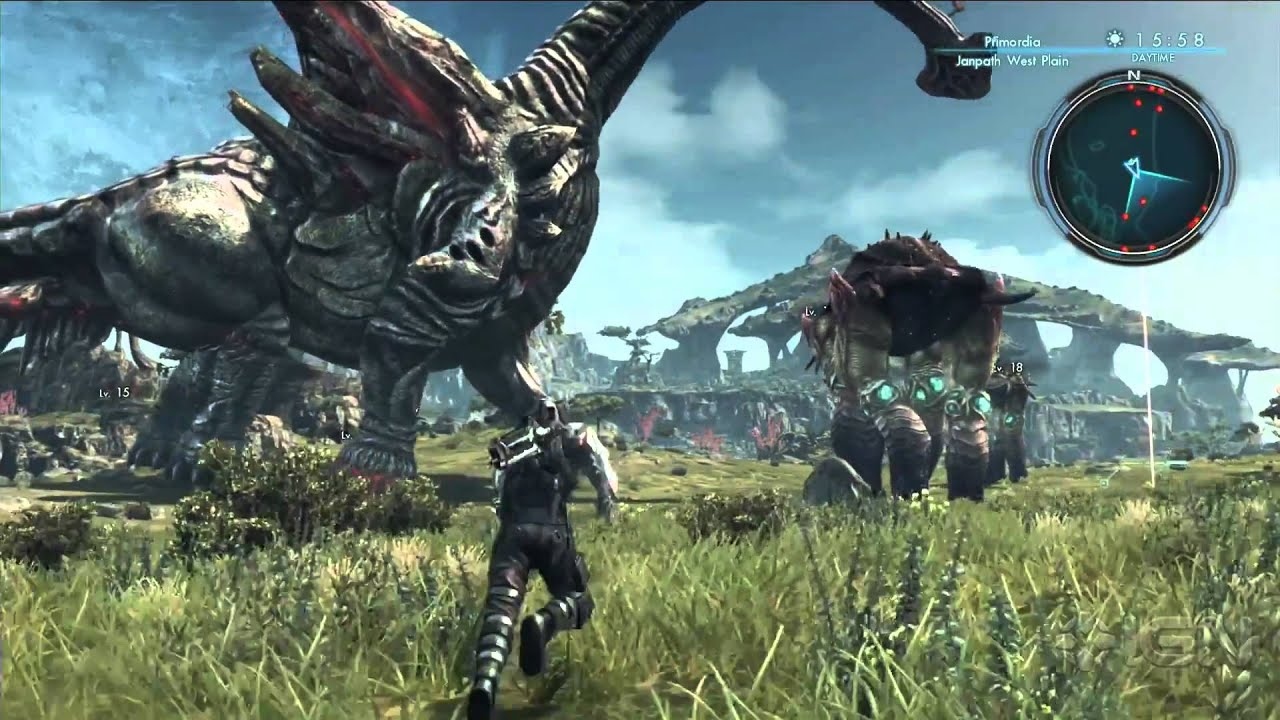 Xenoblade Chronicles X Slots